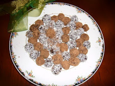 Date Fudge Balls with organic Raw Cacoa
