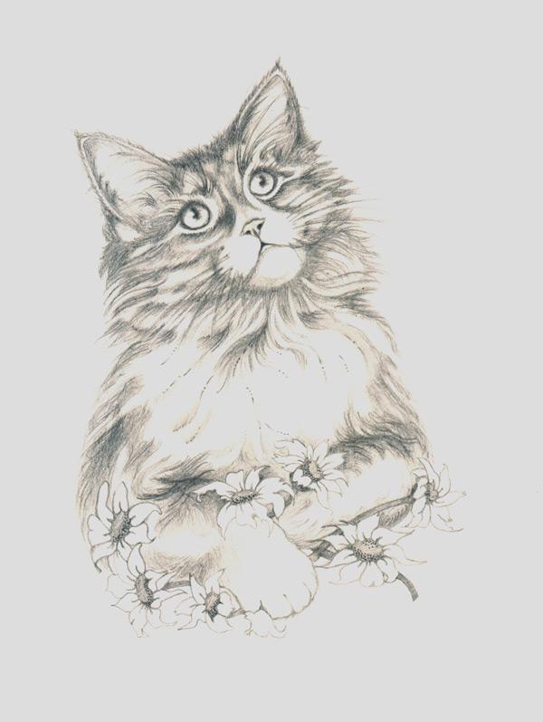 Dibujos de perritos tiernos a lapiz - Imagui
