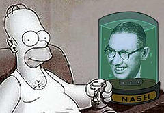 Homer Simpson and Ogden Nash