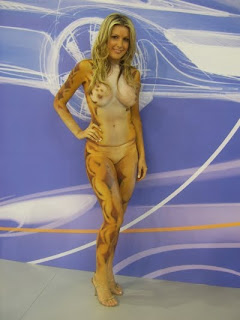 bodypainting sexy