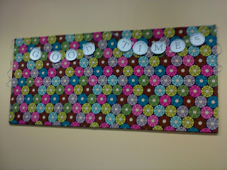Taste And See How To Decorate A Youth Room With No Money Part One Diy Bulletin Board