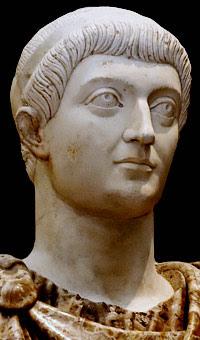 Nome completo: Flavius Iulius Constans, Flavio Giulio Costante Altri titoli: Sarmaticus maximus, Maximus Victor ac Triumphator (340) Nascita: 320 - costante