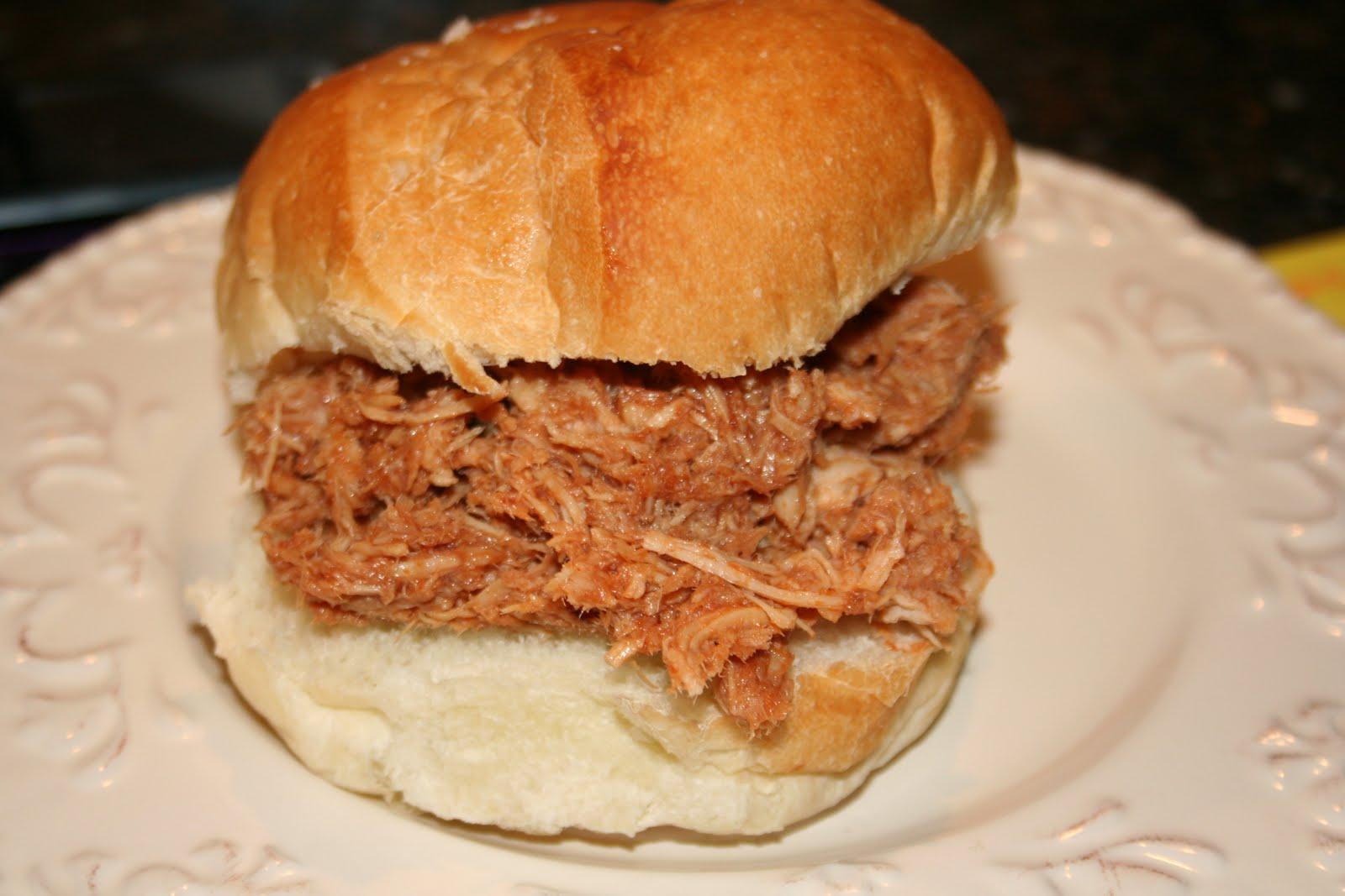 Sadie's Kitchen Adventures: BBQ Pulled Pork Sandwiches