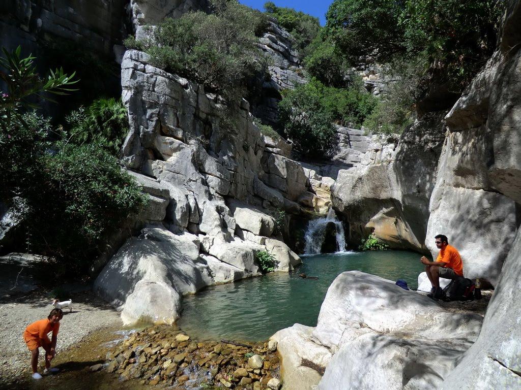 Los Baños Romano La Hedionda: la Utrera-Baños de la Hedionda-río Manilva hasta la poza del Diablo
