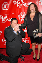 Steve Schirripa and Aida Turturro