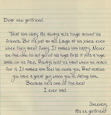 letter to my ex wife