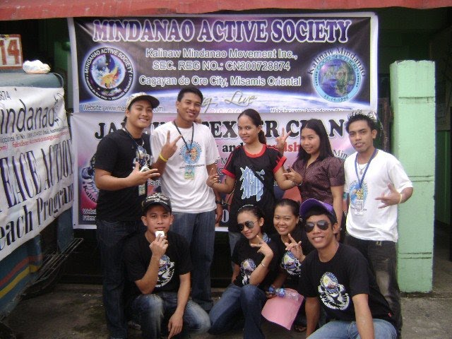 Our Officers and Volunteers at feeding and peace workshop at Brgy.27, July 25,2010