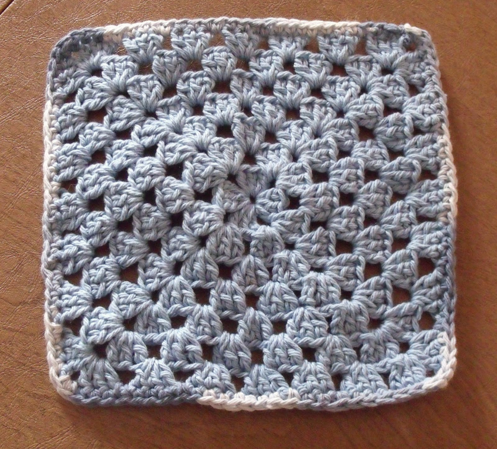 Crochet Granny Square Dishcloth Pattern : Baking, Crocheting and Sewing, Oh My!: Crochet Granny ...