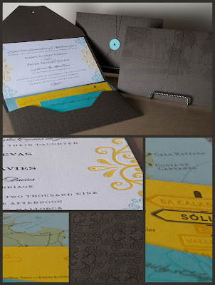 Gorgeous Letterpress Invitations! via TheELD.com