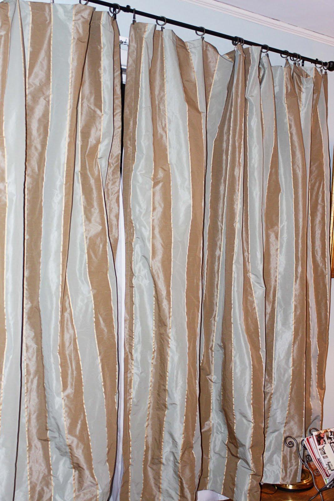 Custom Window Drapery | Modern Silk Drapery, Custom Curtains