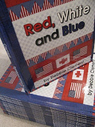"photo of: Patriotic Picture Book ""Red, White and Blue"" by Debbie Clement"