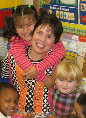 photo of: Debbie Clement on Author Visit to Kindergarten