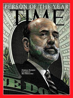 Bernanke Time Cover