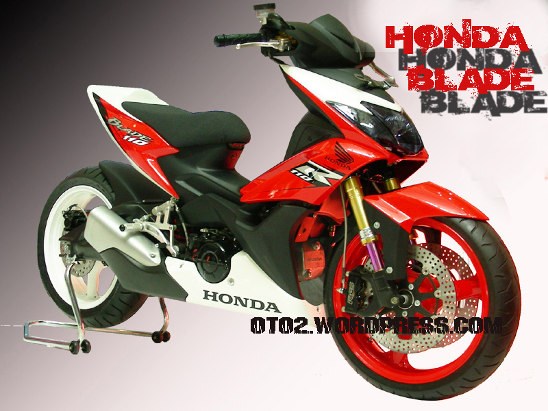 Picture Modifikasi Cat Motor
