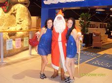 Joulupukki on suosittu oli sitten marketti tai muu yhteisö tilaajana