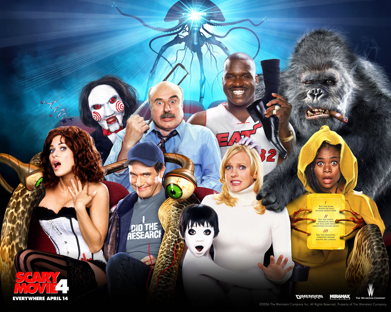 Scary movie 4 image