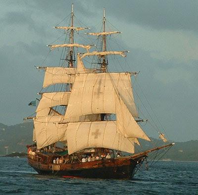 L 39 le aux tr sors les pirates - Voile bateau pirate ...