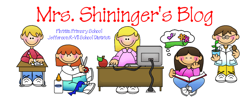 Mrs. Shininger's Blog