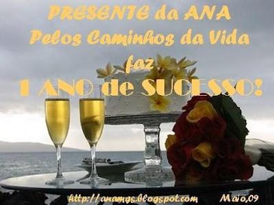 Lindo Ana e parabéns