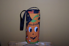 This is a Halloween Treat Bag that I made for Annabella Culwell.