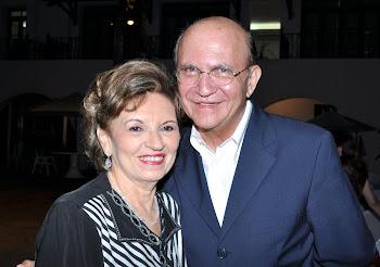 Giselda Medeiros e João Soares Neto
