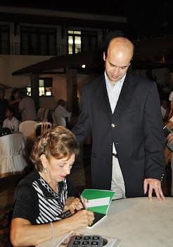 Autógrafo para Henrique Soárez - Diretor do Colégio 7 de Setembro