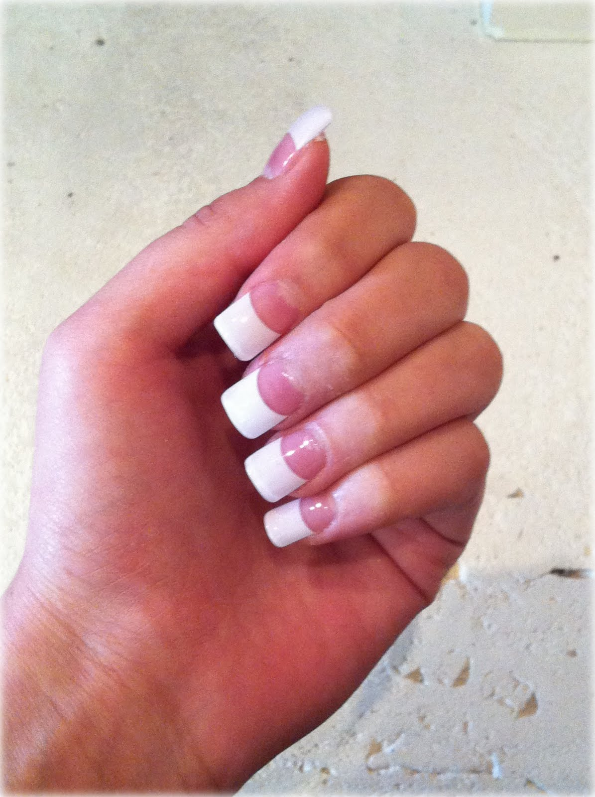 Stunning White French Tip Nails 1195 x 1600 · 170 kB · jpeg