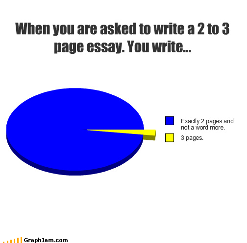 writing a 3 page essay