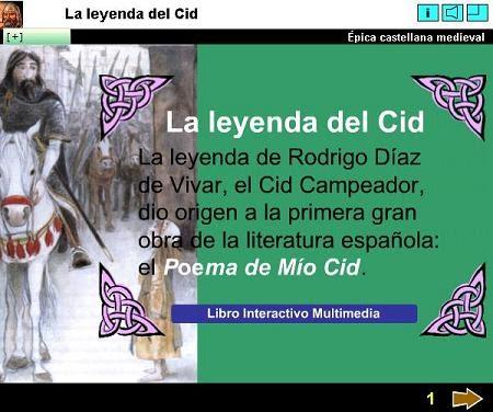 Recursos interactivos en flash la leyenda del cid for La leyenda del cid