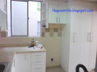 Muebles de melamine galeria cocinas for Severino muebles cocina alacena melamina blanca
