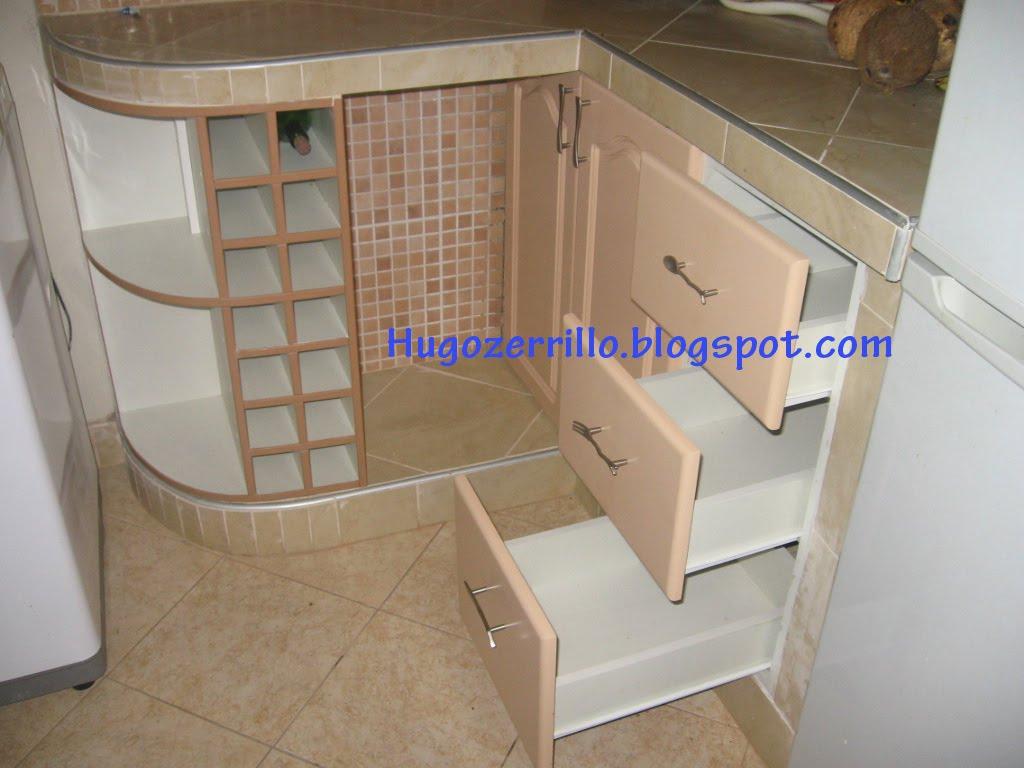 Muebles de melamine galeria cocinas Muebles de cocina en madera mdf