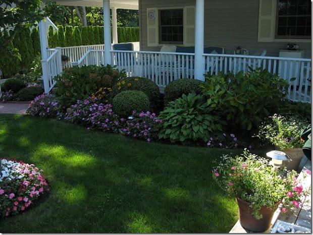 dream porch and garden