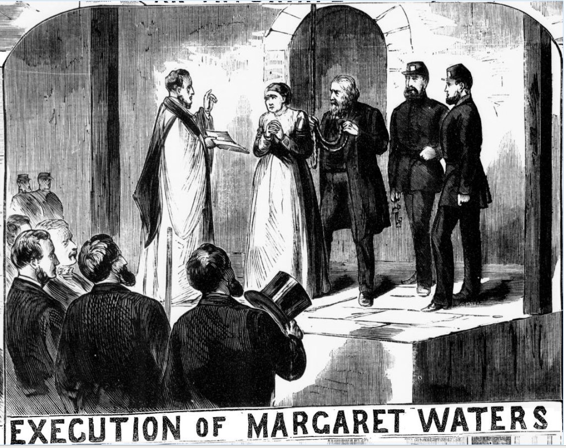 After Frances's execution, women were execution inside the prison