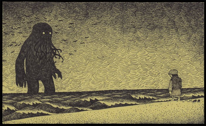 Cthulhu Post-it