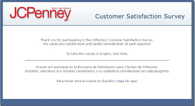 Www.TalkToJCPenney.com – JCPenney Survey Access Code - JcPenney Survey 15% Off Coupon