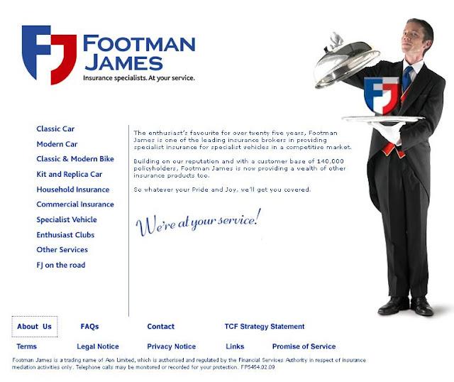 Footman James Breakdown Cover & Breakdown Number Information