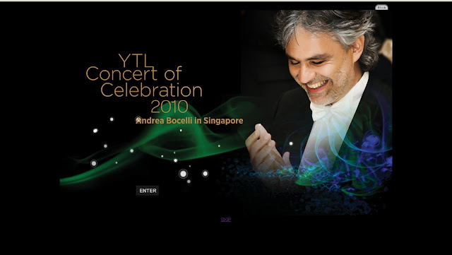 YTL Concert 2010 Official website ytlconcert2010.com.sg info