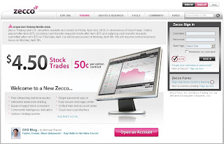 www.Zecco.com - Login to Zecco for Free Stock & Discount Options Trading