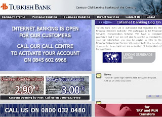 Turkish Bank UK Internet Banking: Customer User Guide