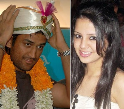 MS Dhoni Marriage (Wedding) Photos