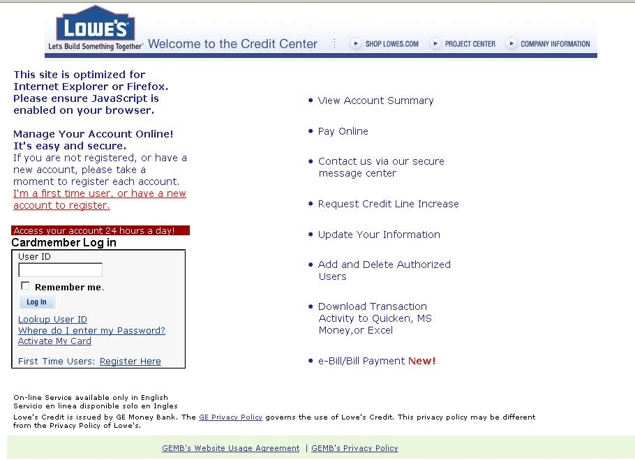visa credit card statement. Credit card users can access