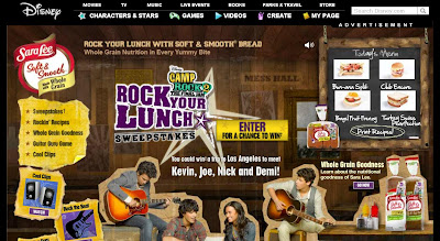 Camp Rock 2: The Final Jam Rock Your Lunch Sweepstakes