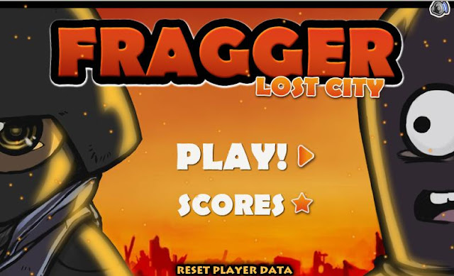 Fragger Lost City Walkthrough & Cheats