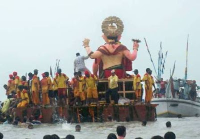 Lalbaugcha Raja Ganesh Visarjan 2010 Started today