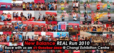 New Balance REAL Run 2010 in Singapore: Schedule & Photos