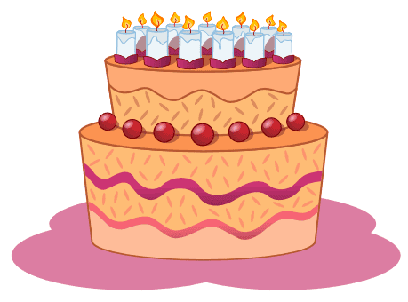 birthday cake cartoon pictures. Images Of Happy Birthday Cakes