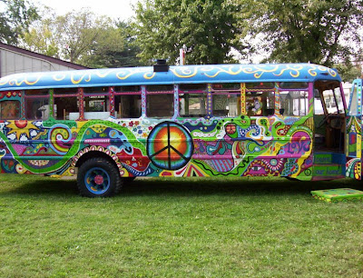 hippie wallpaper. volkswagen hippie bus
