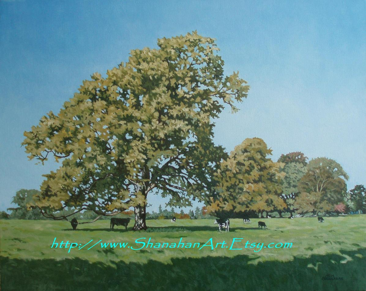 Late Summer in the Golden Vale -- In Auction see Morgan O Driscoll Auction until Monday 19 Jan 2015