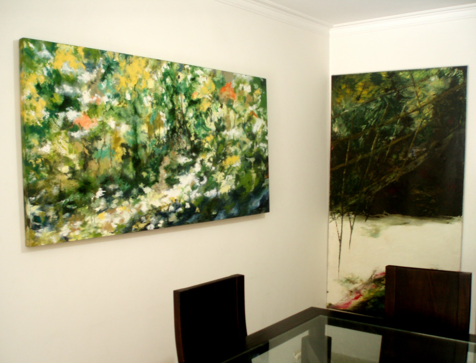 Pinturas modernas en acrilico related keywords pinturas for Decoracion de recamaras modernas