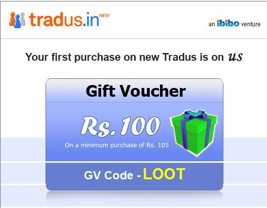 Tradus discount coupons